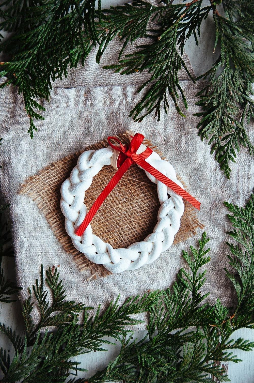 Marshmallow Wreaths