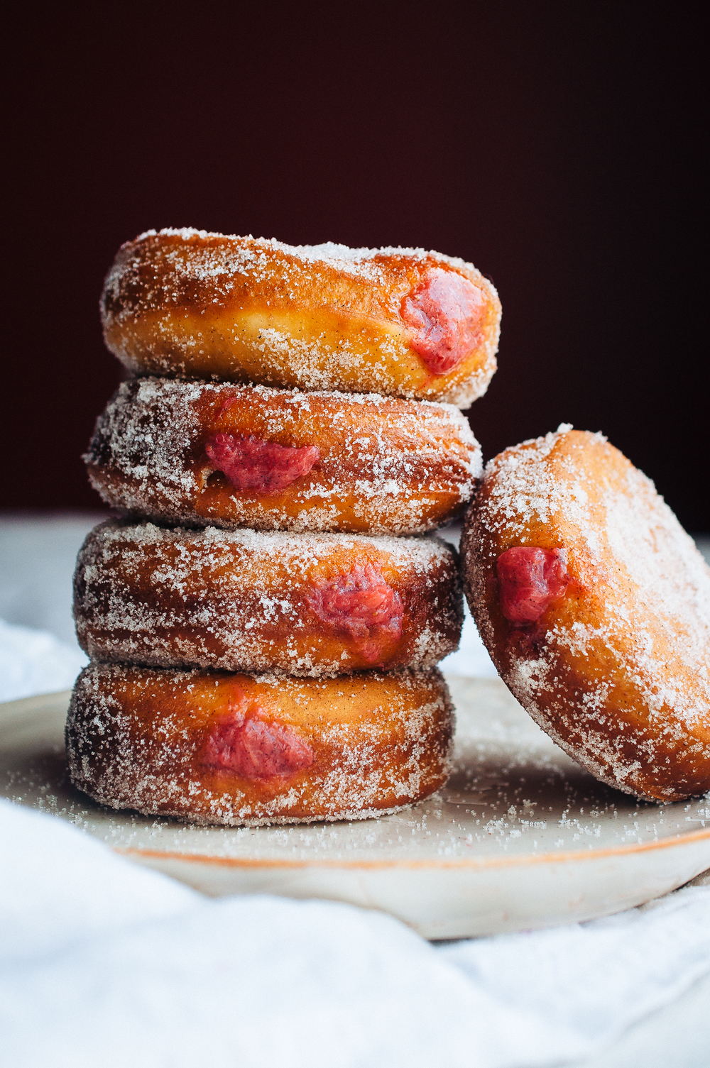 rhubarb strawberry doughnuts 17.jpg