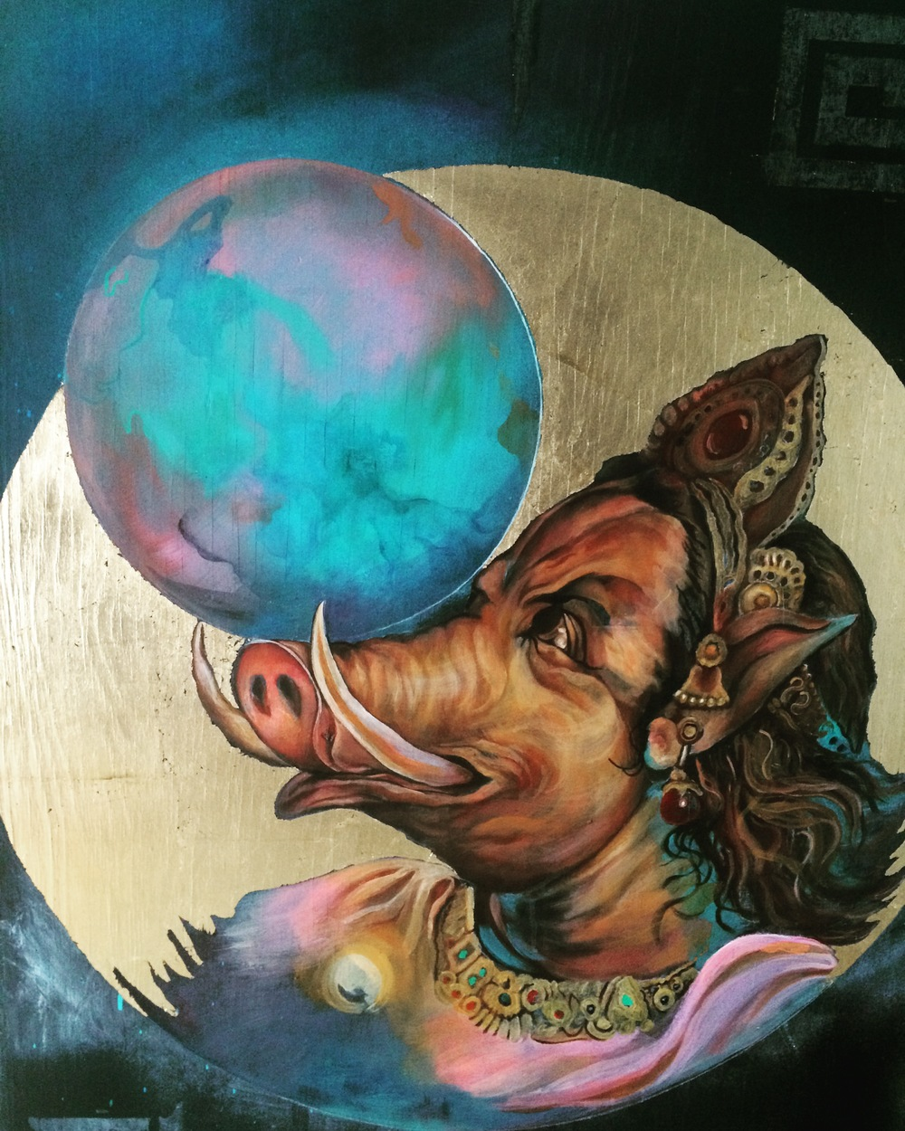 Varaha by Gil Corral 2016