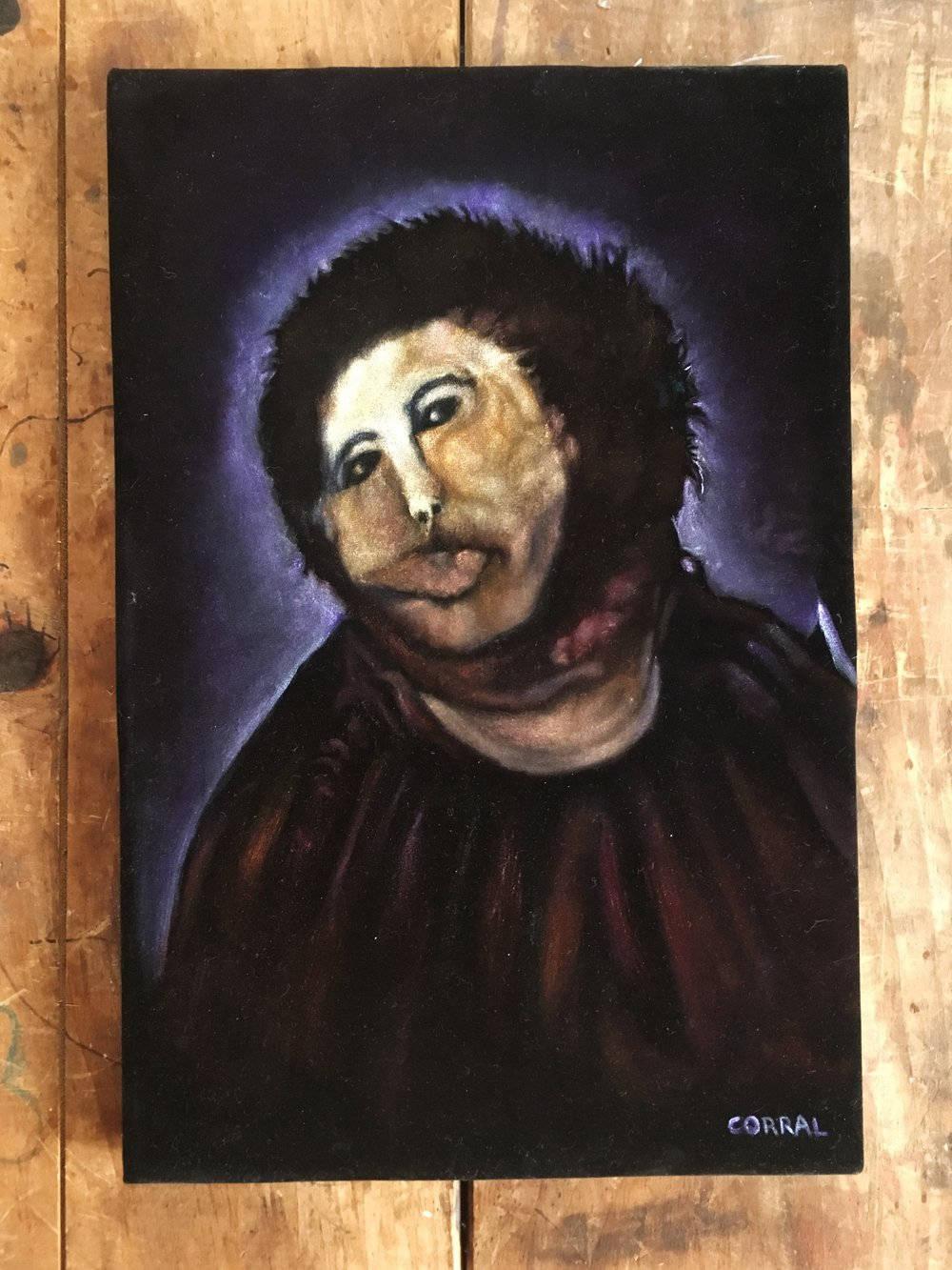 Original painting of jesus