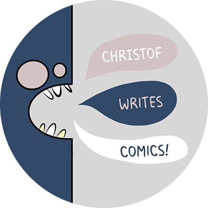 Christof writes comics