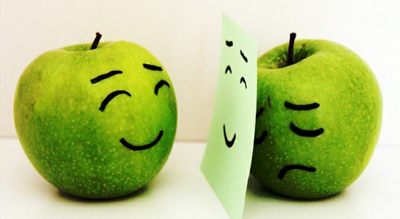 happy and sad green apples, counseling columbia mo