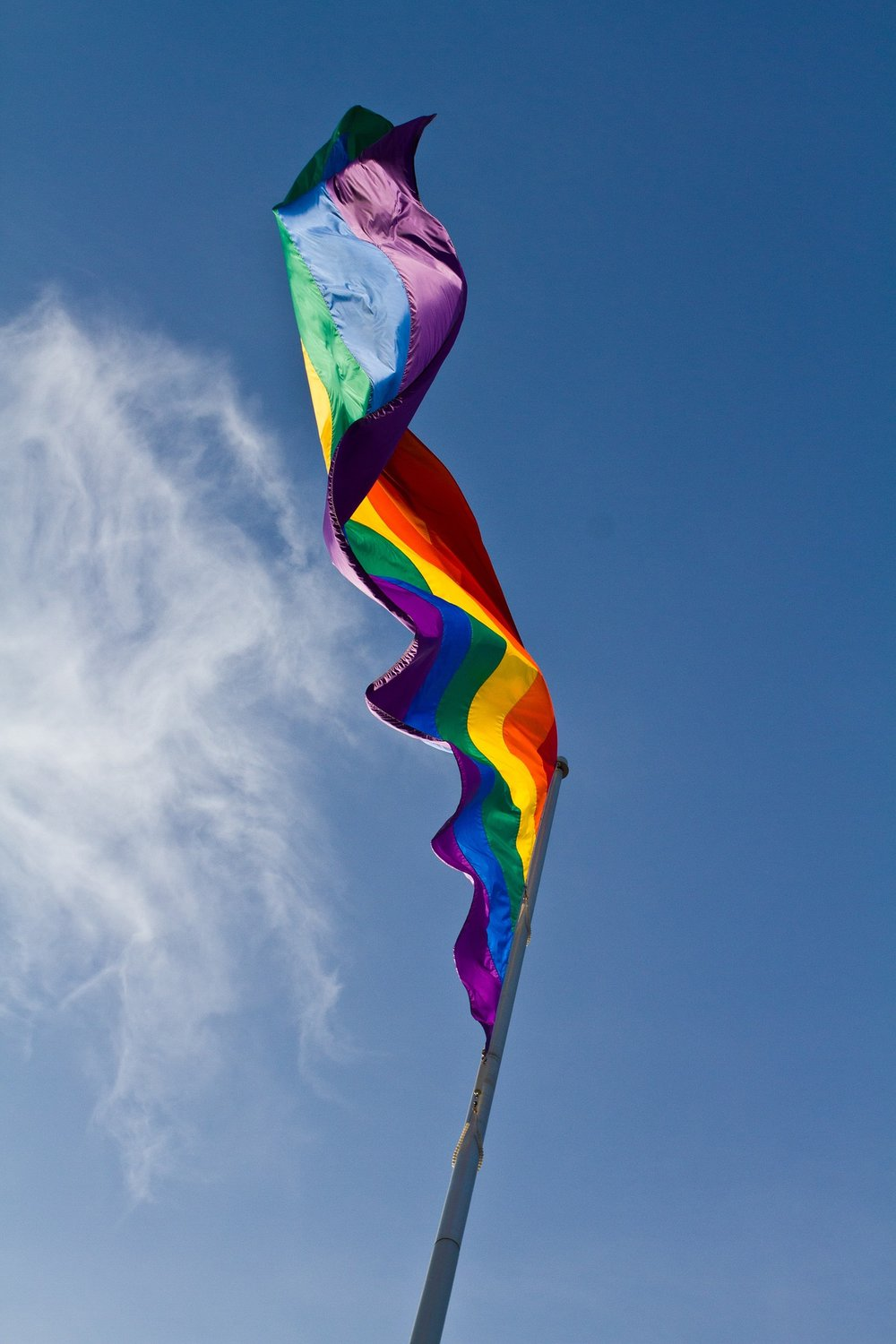 rainbow flag waving, counseling in columbia mo