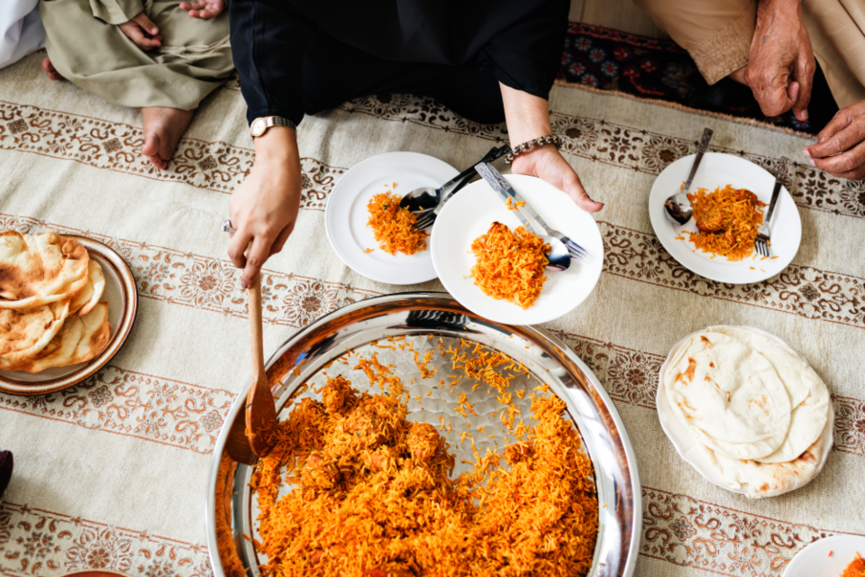 food, sharing food