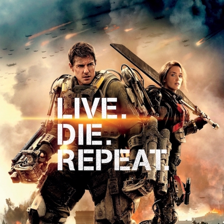 Edge of Tomorrow at 7 PM