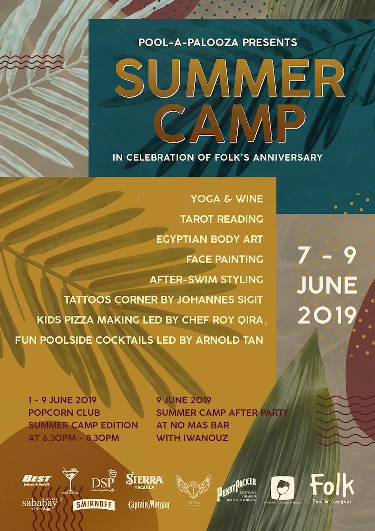 Pool-A-Palooza: SUMMER CAMP — Folk Pool & Gardens