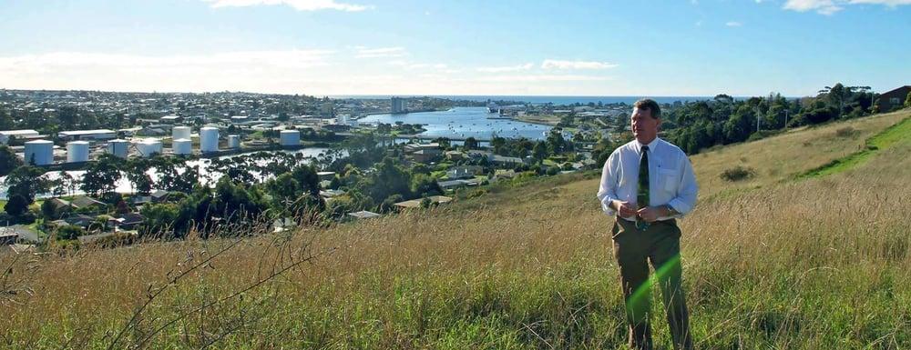 Steve Martin. Mayor.   Devonport, Tasmania (Aust)