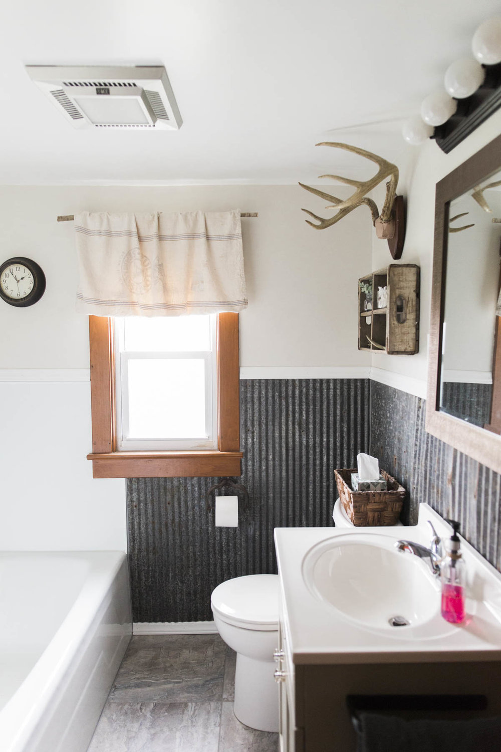 OUR FARMHOUSE PROJECT: MASTER BATHROOM REMODEL — Shot by Chelsea