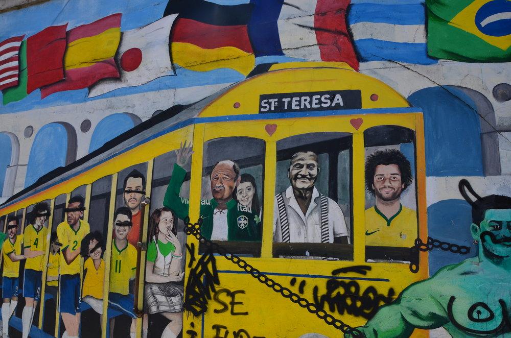 Graffiti, Rio de Janeiro