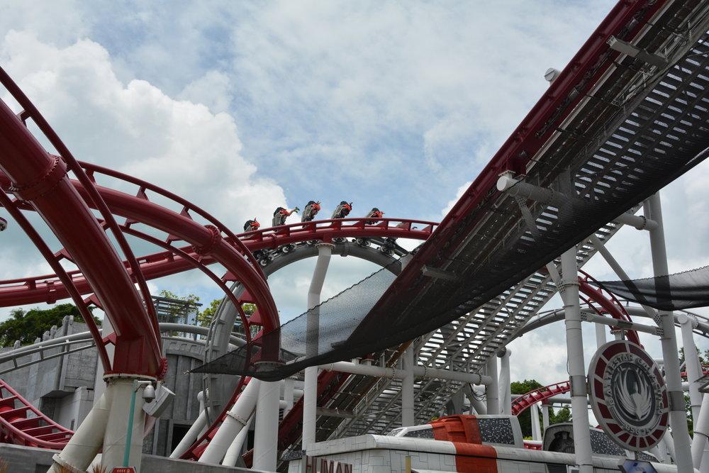 CYCLON Roller Coaster, Sentosa Island, Singapore
