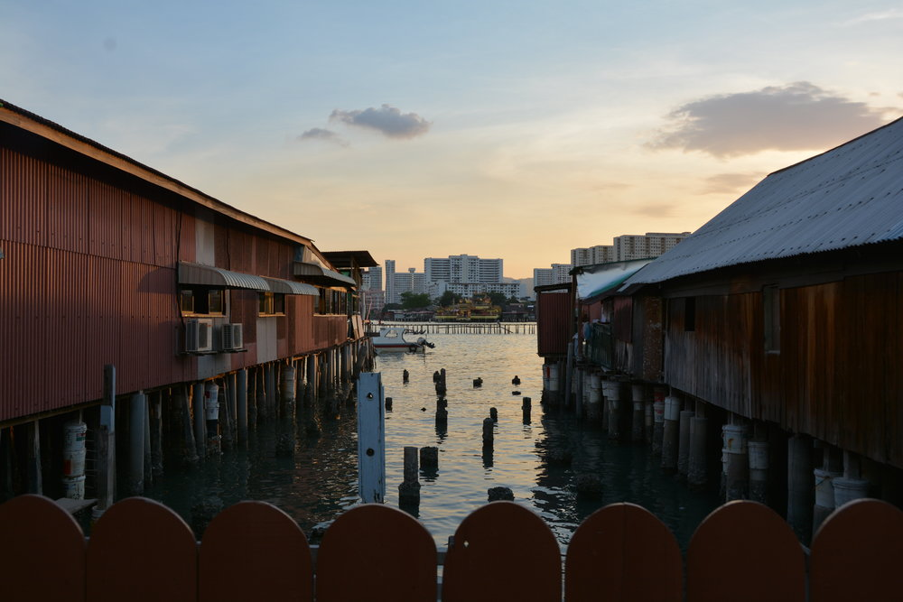 Clan Jetties, Penang, Malaysia