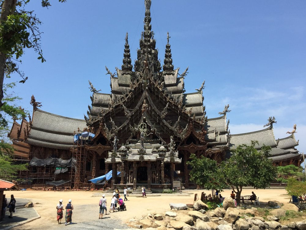 Sanctuary of Truth near Pattaya, Thailand
