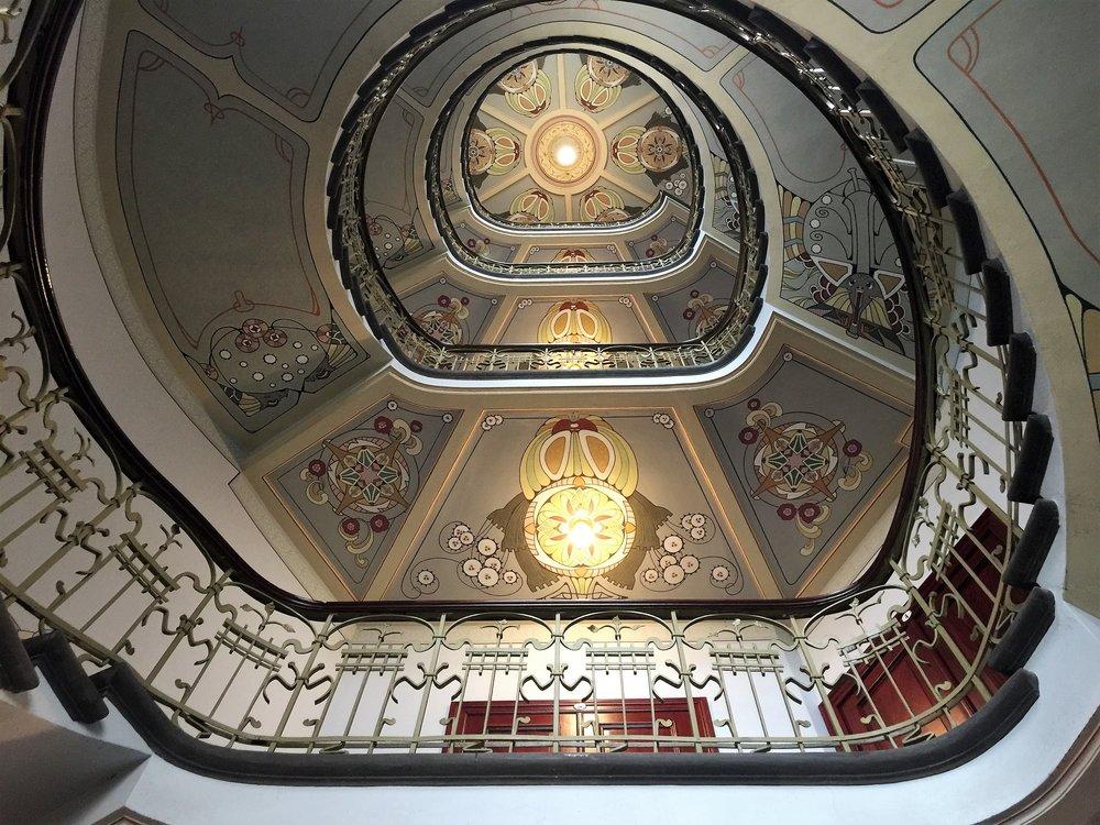 Art Nouveau Centre Museum staircase