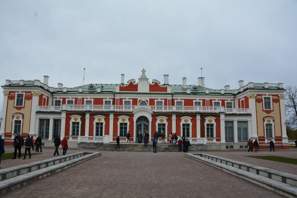 Kadriorg Palace in Tallinn, Estonia