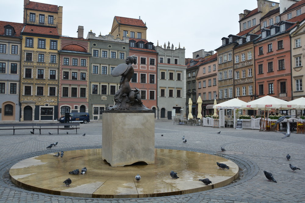 Old Town of Warsaw, Poland