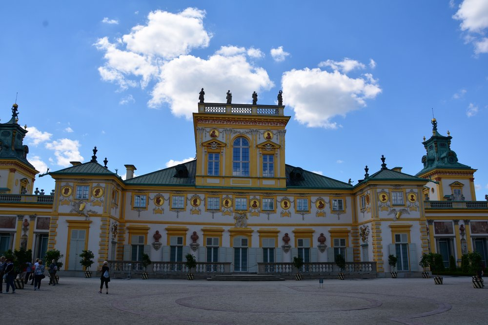 Wilanow Palace in Warsaw, Poland