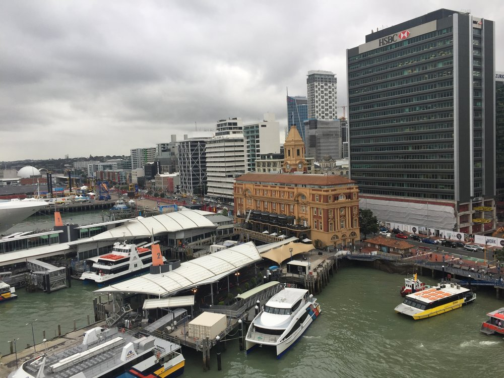 Downtown Ferry Terminal in Auckland