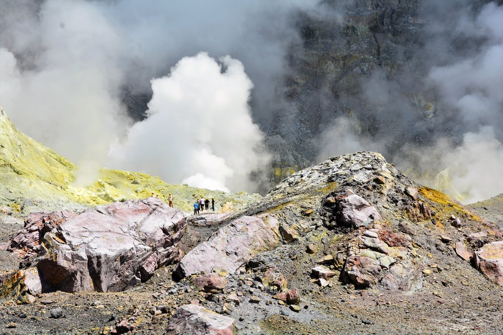 More walking in the crater of New Zealand's most active volcano