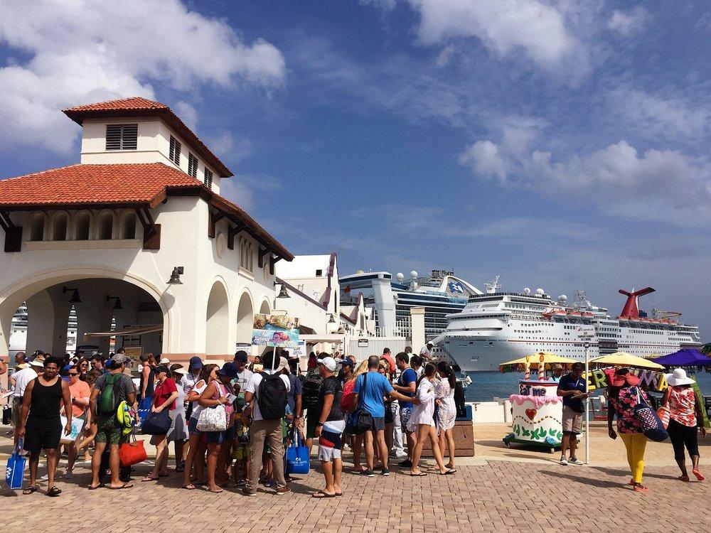 Cruise terminal, Cozumel