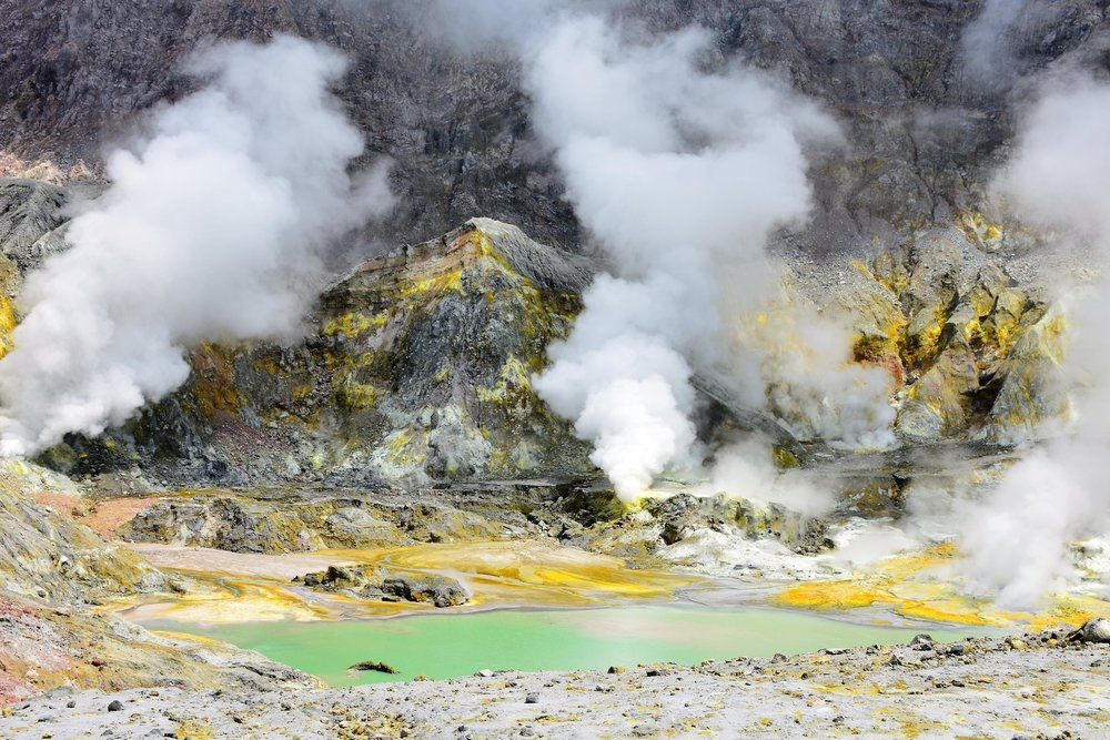Steaming Crater Lake