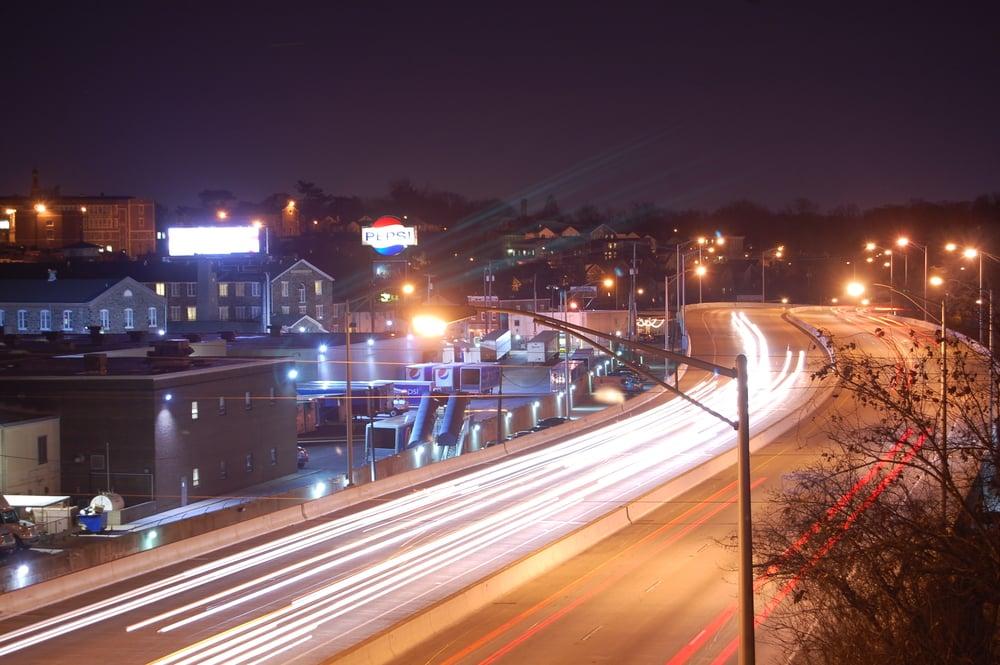 I-83 View from W. 41st. St. Bridge