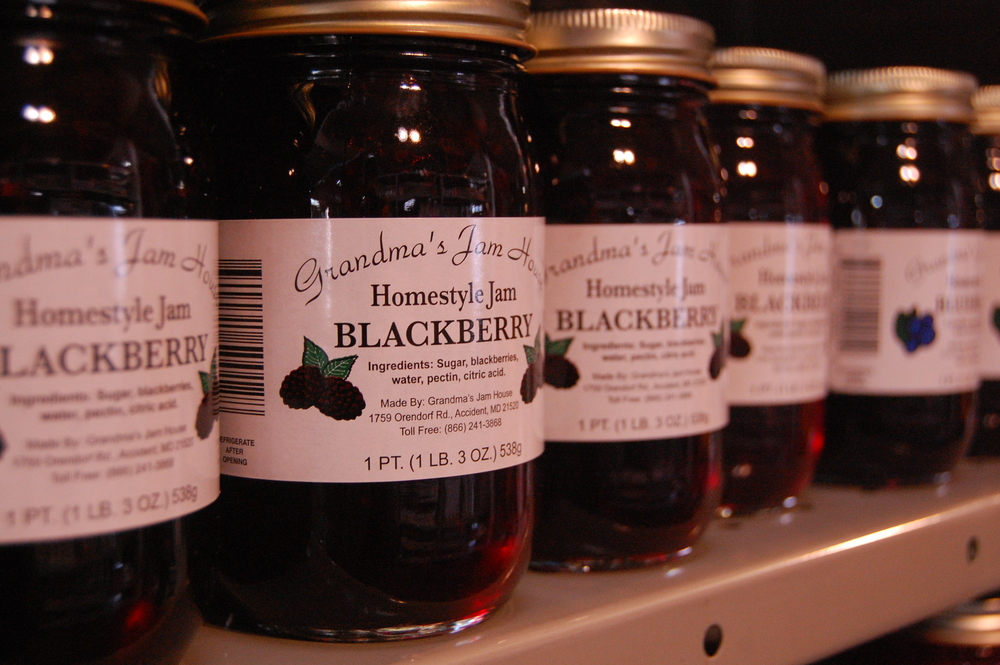 Locally Produced Jams