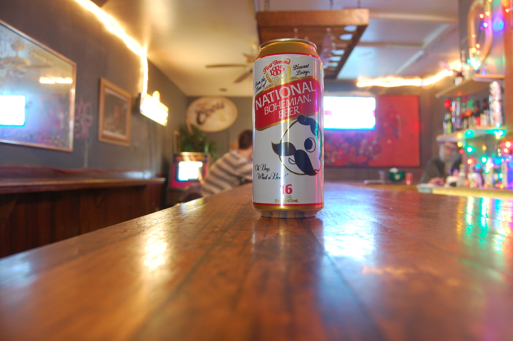 Natty Boh at The Secret Bar