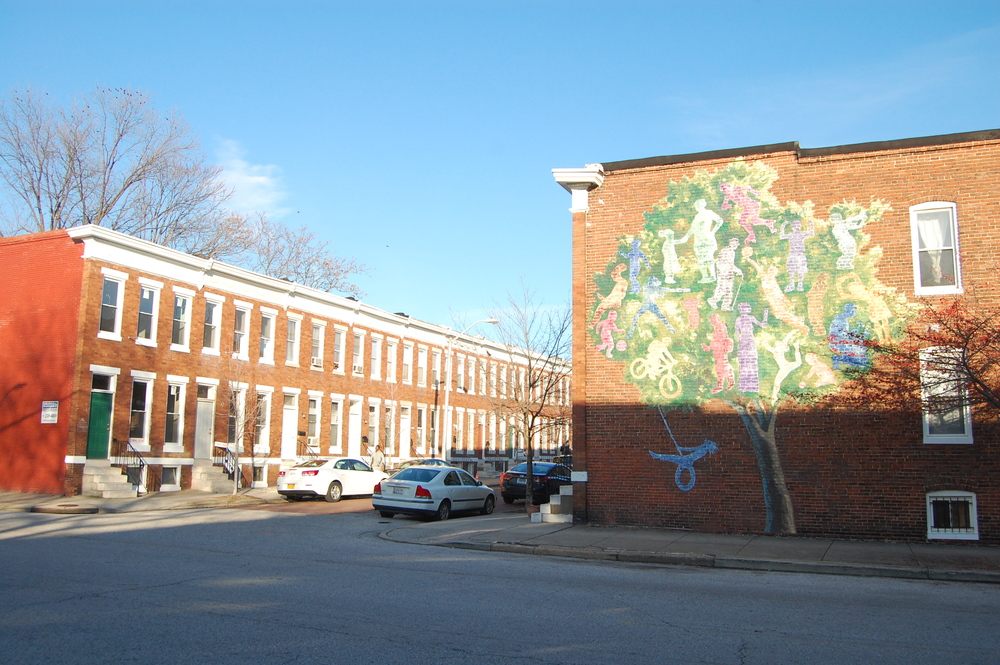 Mural on Barclay Street