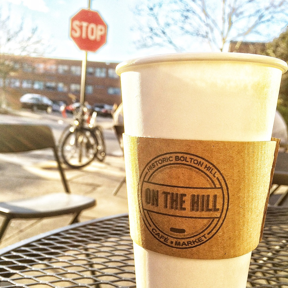 Golden Afternoon at On the Hill Cafe