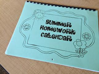 Math Summer Homework Calendar   Fourth Grade Thinkers P S         Redbridge Community School
