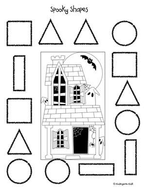 October Preschool Homework Packet — Kindergarten Kiosk