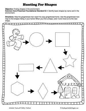Pre school homework