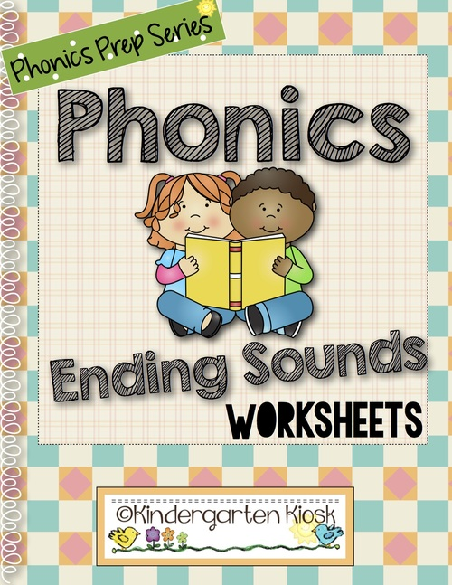 Phonics Prep Ending Sounds Worksheets Kindergarten Kiosk – Ending Sounds Worksheets Kindergarten