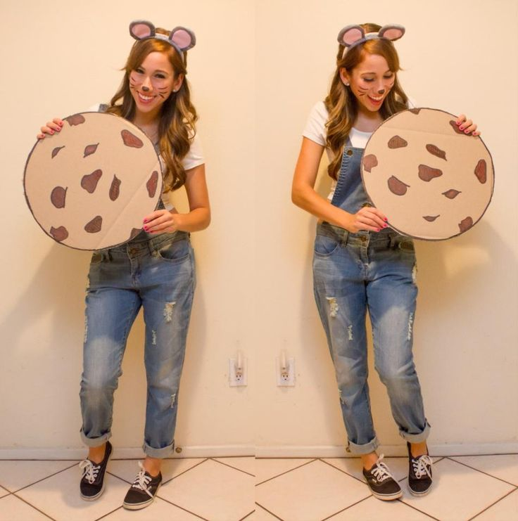 Find (or make) some mouse ears paint your face like a mouse with face paint and throw on some overalls for this costume. Then all you need is a cookie!  sc 1 st  Kindergarten Kiosk & 21 Costume Ideas for Teachers u2014 Kindergarten Kiosk