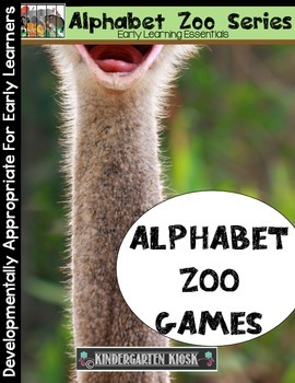 Alphabet Zoo: Early Reading Games