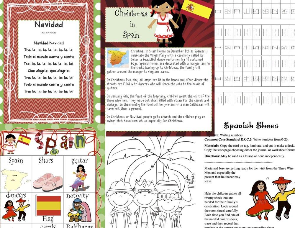 Celebrate Christmas Around The World — Kindergarten Kiosk