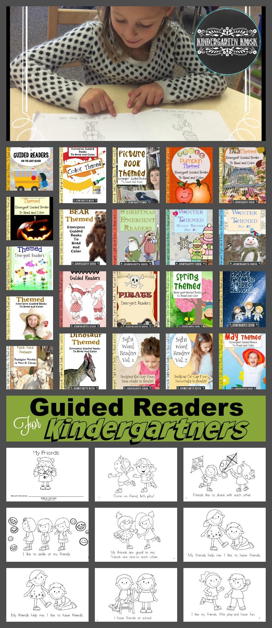 leveled-readers-kindergarten