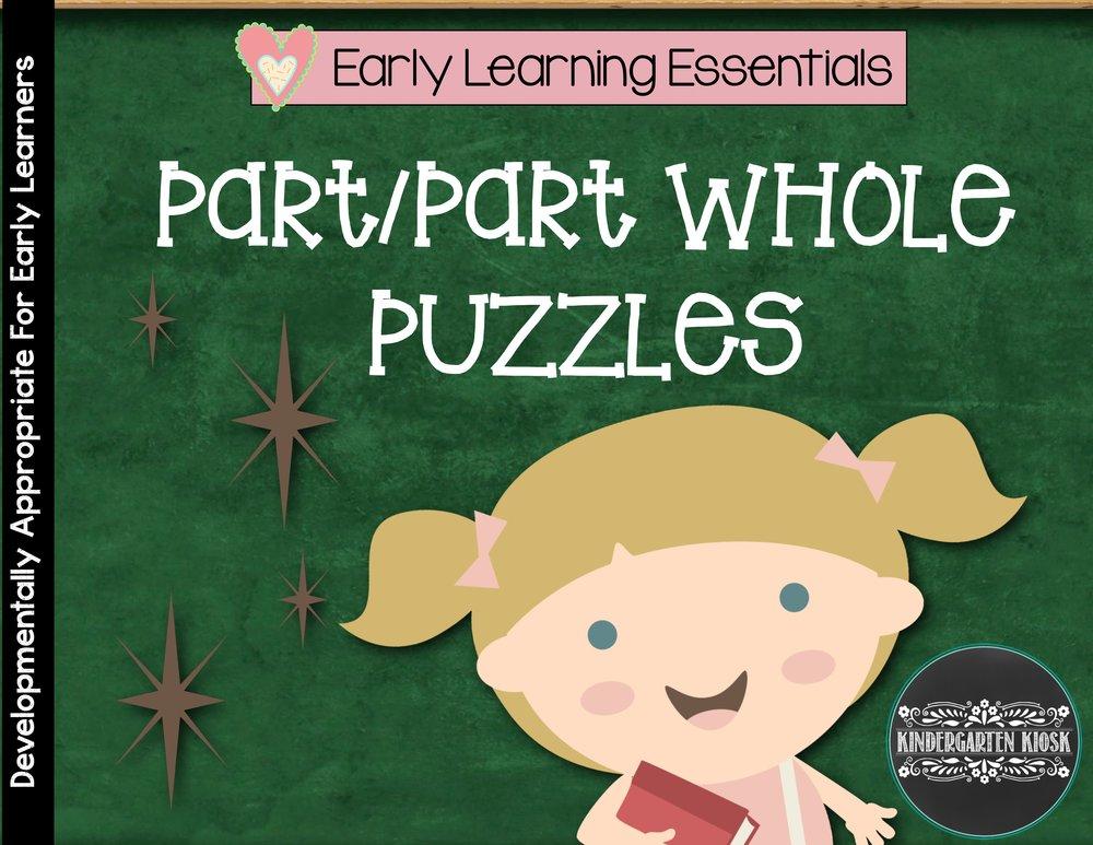 Part/Part Whole Puzzles