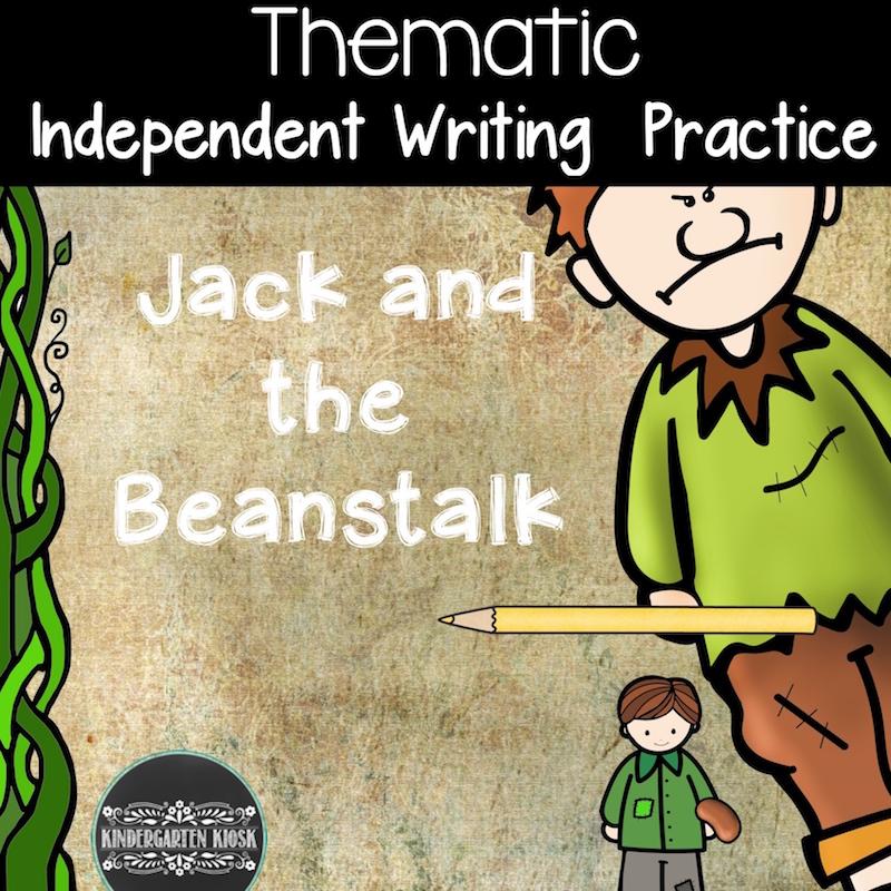Jack and the Beanstalk Activities for Preschoolers and Kindergarten