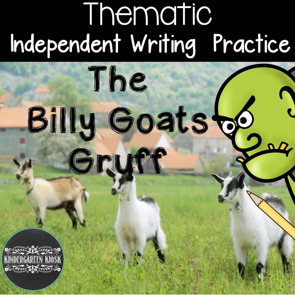 Billy Goats Gruff: Writing Center Activities