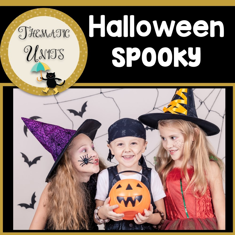 Halloween Spooky Fun Thematic Unit