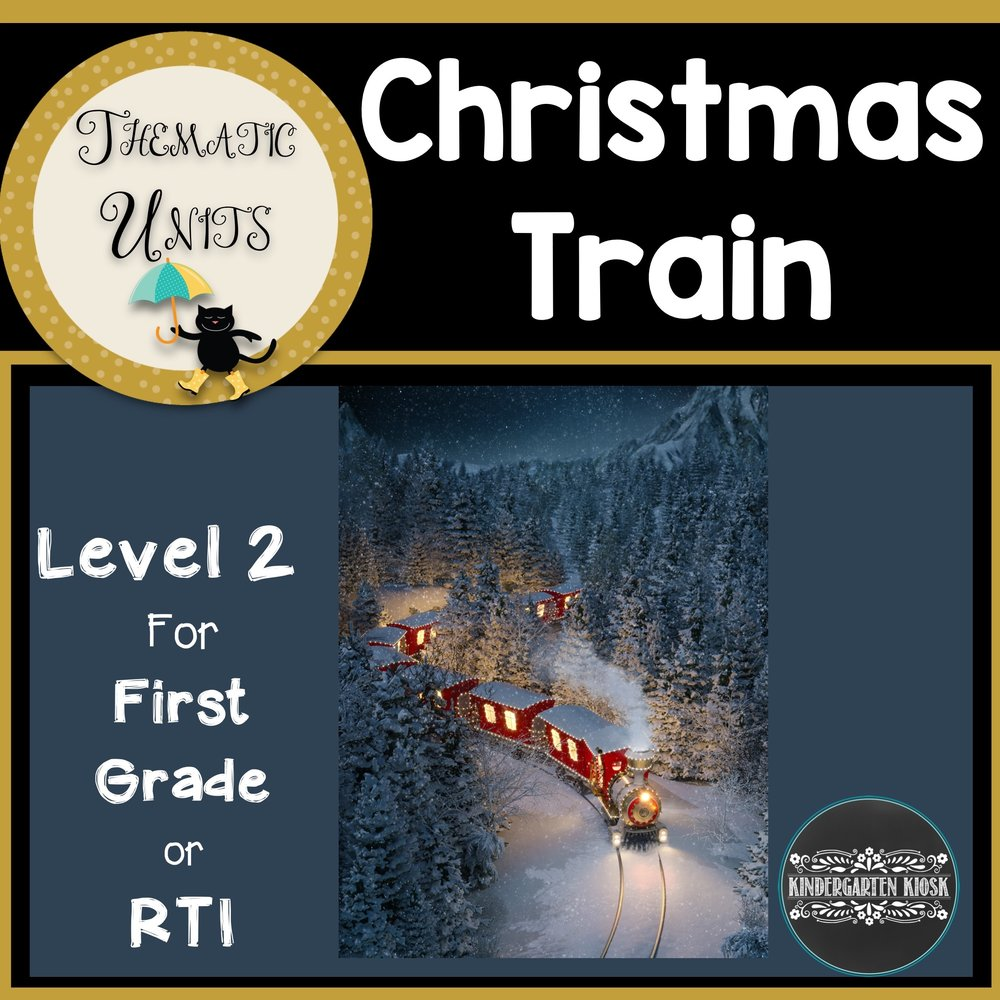 Polar Express First Grad Thematic Unit