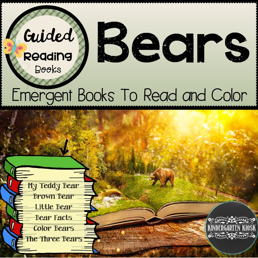 Bear Themed Sight Word Readers