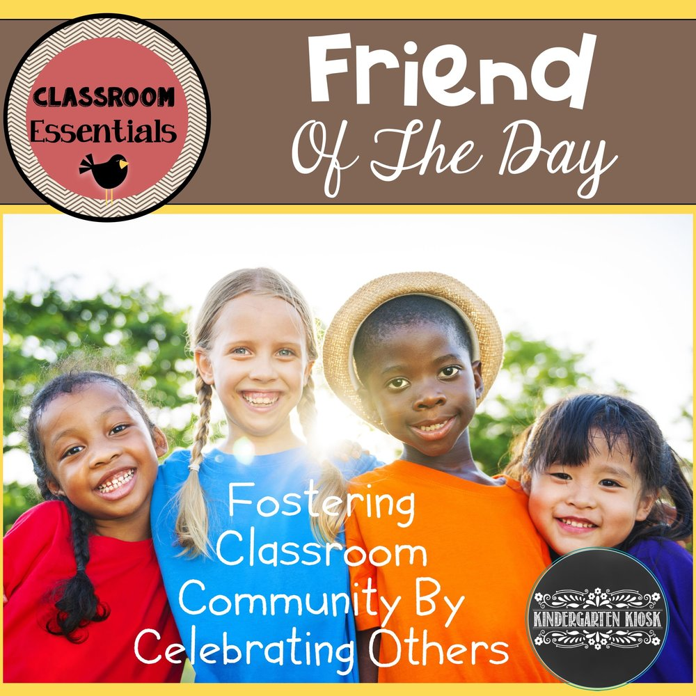 Friend of the Day: Community Building Activity