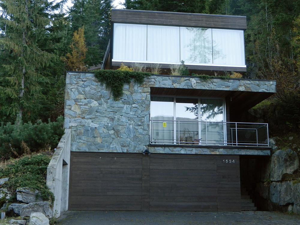 Greenstone slate exterior, Whistler
