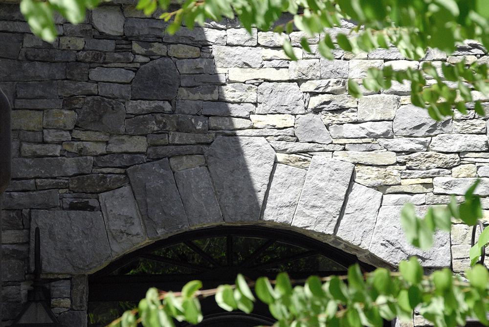 Basalt archway detail, Shaughnessy
