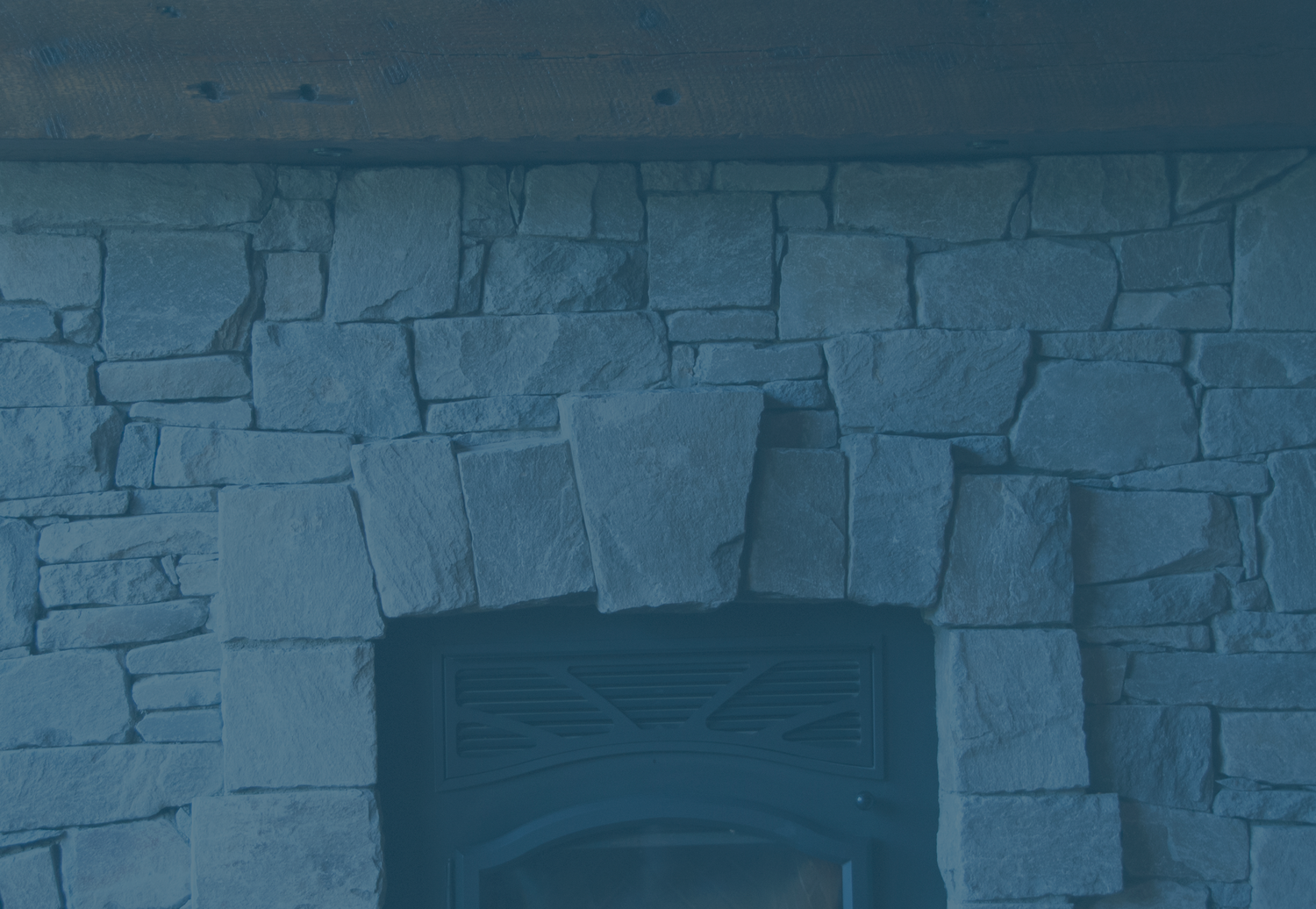 Custom fireplaces, hearths, stone and wood mantels — TETRISTONE ...