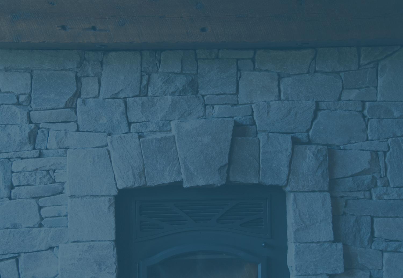 Custom fireplaces, hearths, stone and wood mantels — TETRISTONE ...