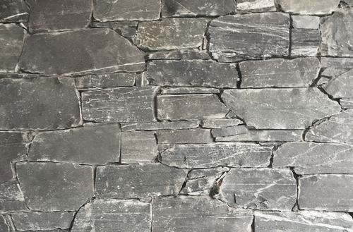 Slate with quartz veins