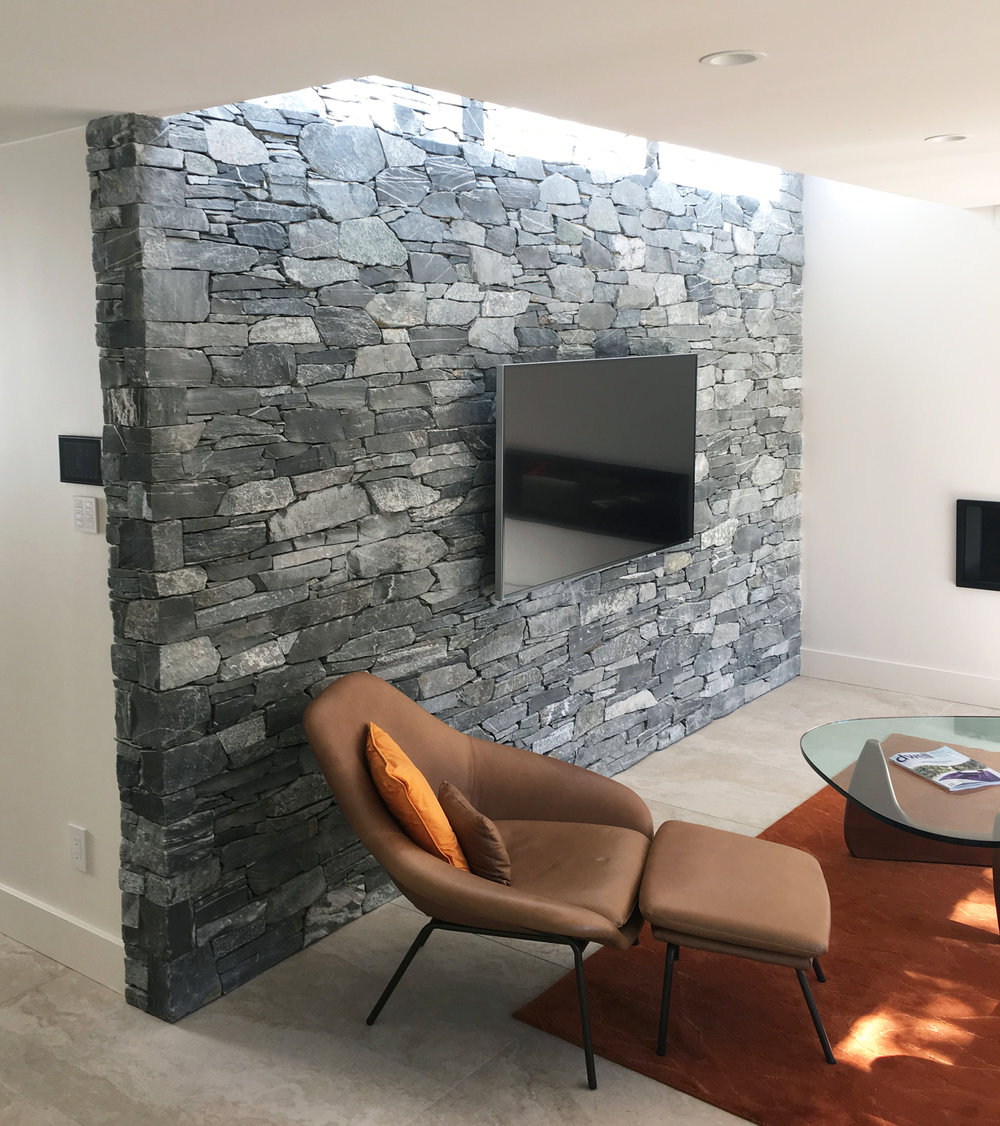 Belcarra feature wall